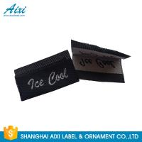 China Silk Screen Care Woven Clothing Labels , Washable Apparel Labels For Garment wholesale