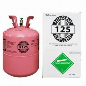 China Factory price! HFC-125 refrigerant gas wholesale