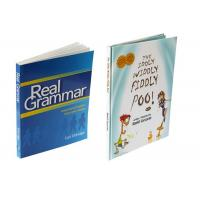 Buy cheap Custom Size Textbook Printing Services , Paperback Book Printing Case Bound from wholesalers