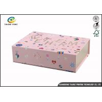 Buy cheap Newly Design Folding Gift Boxes Charming Black Printing Easy Disassembled from wholesalers