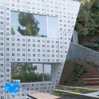 China Punching pattern aluminum single board outdoor aluminum curtain wall perforated aluminum plate profile decoration on sale