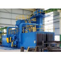 Buy cheap Electrical Roller Conveyor Shot Blasting Machine for Steel Pipe Surface Improving from wholesalers