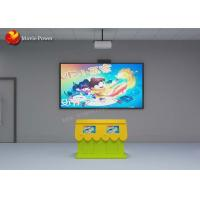 China Interactive Projection System Children Painting Fish Game Simulator FRP + Steel Material on sale