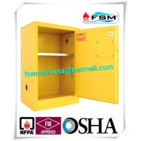 China Flammable Liquid Safety Storage Cabinets Adjustable Shelf For Chemical Hazardous Goods wholesale