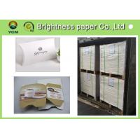 China Mixed Pulp Material White Cardboard Sheets For Cosmetics Packing 700 * 1000mm wholesale