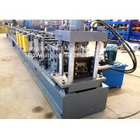 China Automatic Storehouse Sheet Metal Rack Roll Forming Machines 7.5kw Power wholesale