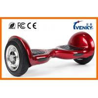 China Venky 10 Inch Self Balancing Scooter , two wheel motorized scooter with samsung battery wholesale
