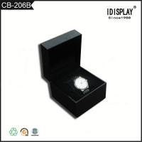 China Black Matte Lamination Small Cardboard Gift Boxes Corrugated For Paking Watches wholesale