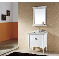 China Solid Wood Bathroom Cabinet / Furniture / Vanity (MJ-065) wholesale