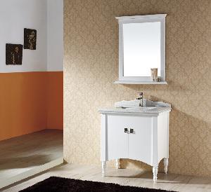 China Solid Wood Bathroom Cabinet / Furniture / Vanity (MJ-065) wholesale
