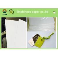 China Customized Size C2s Craft Cardboard Sheets / Reel Smoothy Surface wholesale