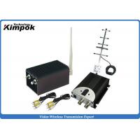 Buy cheap High Integrated CCTV Analog Video Wireless Transmitter With 5000mW Output Power , AV Interface product