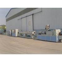 China Drainage and Water Supply PVC Pipe Extrusion Line / Plastic Extruder wholesale