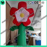 China Summer Event Decoration Inflatable,Club Decoration Inflatable  Red Flower wholesale