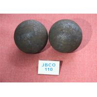 China Precise Size Hot Rolled Grinding Steel Balls for Ball Mill , Large Steel Ball for Mineral Processing wholesale