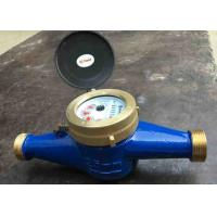 China Residential Cold Water Multi Jet Meter Iso4064 Class B With Brass House wholesale