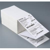China Disposable Self Stick Address Labels Roll With Waterproof Thermal Barcode wholesale