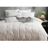 China Real Simple Washed Twin Size Bedding Sets Soft 4 Pcs 100% Cotton Sample Available wholesale