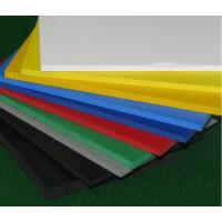 China Advertising Outdoor Wall PVC Sheet , Sound Insulated Fire Retardant PVC Sheet on sale