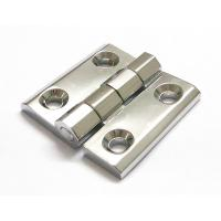China Cabinet Door Hinge 40*40 50*50 60*60 Bright Chrome Zinc Alloy Electric cabinet panel hinge wholesale