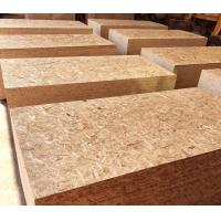 China Natural Wood Color Oriented Strand Board 9 - 20mm Thickness With Polished Surface wholesale