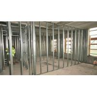 China Shock Resistant Drywall Steel Stud Good Flexibility Durable Building Material wholesale