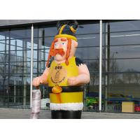 China Customized Inflatable Viking Doll Giant 420D Oxford Cloth For Outdoor Event wholesale