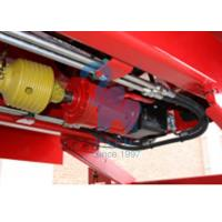 China Supersize Body Vertical Feed Mixer Wagon For Livestock Farm Red Color wholesale