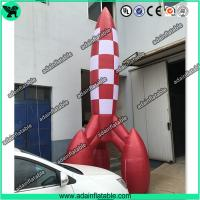 3m Advertising Inflatable Rocket Model,Event Rocket Customized