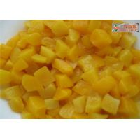 China PH 3.6 Organic Canned Fruit , Fresh Canned Peaches In Water / Juice wholesale