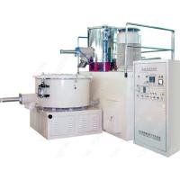 China Stainless Steel 5 MM PVC Mixer Machine , High Speed Plastic Heating Cooling Mixer wholesale