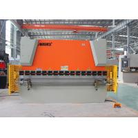 China Hydraulic Sheet Metal NC Press Brake Equipment With Laser Safety Protection wholesale