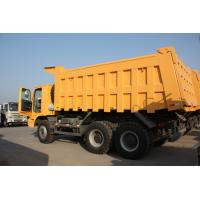 China 70 Tons HOWO Mining Tipper Dump Truck 371HP High Strength Steel Cargo Body on sale