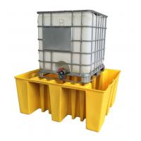 China Large Capacity Safety Spill Pallet , PE Spill Containments For IBC Tank Storage wholesale