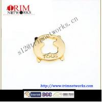 China Alloy 30 MM HVS Imi gold metal plate wholesale