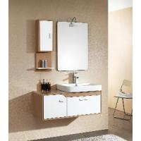 China Solid Wood Bathroom Cabinet / Furniture / Vanity (MJ-166) wholesale