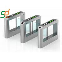 China Mechanism Rfid Swing Barriers Gate, Automatically Speed Gate Optical Turnstile on sale