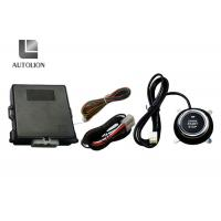 China Car Engine Auto Start Keyless Entry Systems With Push Start Button , 433.92MHz Frequency wholesale