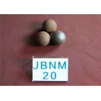 China 62-63HRC D20MM Mineral Processing  Grinding Steel Ball , Custom Steel Balls for Ball Mill wholesale