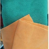 China Microfiber Green 160cm Width 300gsm Super Absorbent Cleaning Terry Fabric wholesale