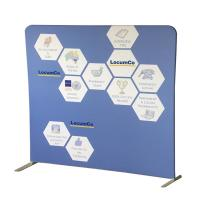 China Portable Tension Fabric Displays Free Standing Photo Booth Recycled Materials wholesale