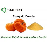 Yellow Fine Pumpkin Dried Vegetable Powder For Food Beverage / Ice Cream