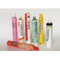 China Soft Empty Toothpaste Tubes, Colorful  Hand Cream Empty Aluminum Tubes on sale