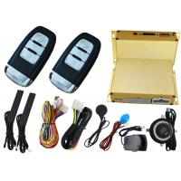 China Car Ignition Start Button Car Alarm Security System , RFID Emergency Unlock Feature wholesale