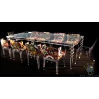 China FU (1) clear acrylic bar furniture lounge wholesale