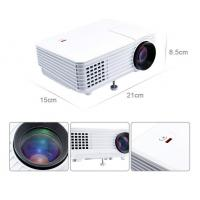 Quality RD805 800 Lumens HDMI/VGA/USB/AV/Audio Input Mini Home Theater Projector  (White) for sale