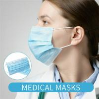 China Anti Virus Disposable Surgical Face Masks Medical Filter Melt Blown Fabric wholesale