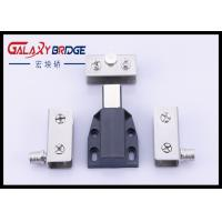 China Stainless Steel Glass Door Stopper , Soft Close Cupboard Dampers ISO Approved wholesale