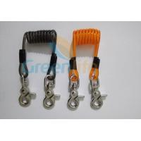China High Quality Short Coiled Tool Lanyard w/Heavy Duty Snap Hooks Steel/Plastic Coard Inside Available wholesale