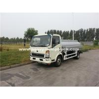 China SINOTRUK HOWO 4x2 4102N Light Oil Tank Truck For Transportation wholesale